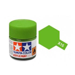 Tamiya Color X-15 Light Green gloss 10ml