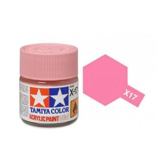 Tamiya Color X-17 Pink gloss 10ml