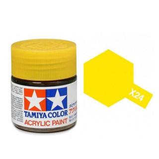 Tamiya Color X-24 Clear Yellow gloss 10ml