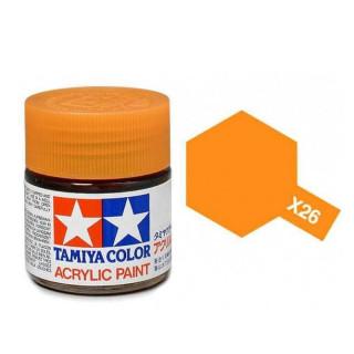 Tamiya Color X-26 Clear Orange gloss 10ml