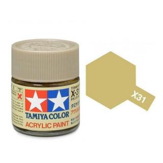 Tamiya Color X-31 Titanium Gold 10ml