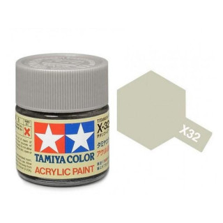 Tamiya Color X-32 Titanium Silver gloss 10ml