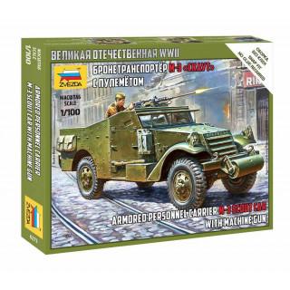 Wargames (WWII) military 6273 - Soviet M-3 Scout Car with Machine Gun (1:100)