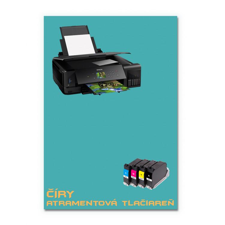 Čirý obtiskovací papír A4 - Inkjet