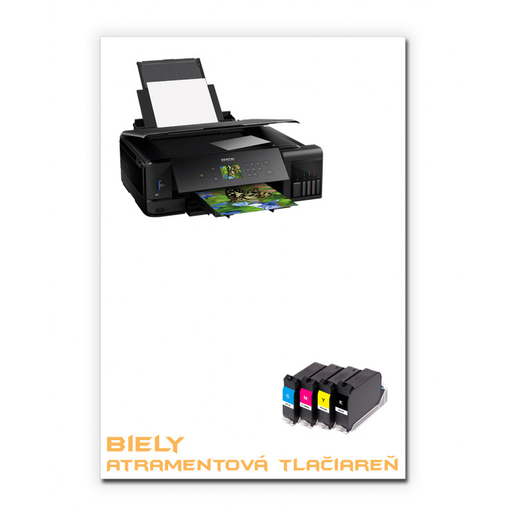 Bílý obtiskovací papír A4 - Inkjet