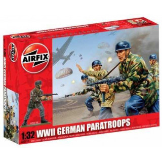 Classic Kit VINTAGE figurky A02712V - WWII German Paratroops (1:32)