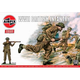 Classic Kit VINTAGE figurky A02718V - WWII British Infantry (1:32)