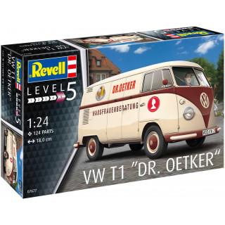 "Plastic ModelKit auto 07677 - VW T1 ""Dr. Oetker"" (1:24)"