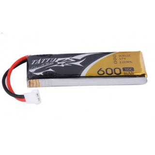 Tattu 600mAh 3.7V 30C 1S1P Lipo Battery Pack with Molex Plug