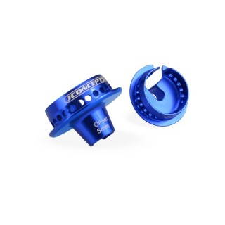 Alu 5mm podložky tlumičů 12mm V2 modré (2 ks.)