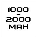 1000-2000mAh