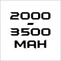 2000-3500mAh