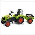 Dětské šlapací traktory
