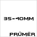Průměr 35-40mm