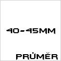 Průměr 40-45mm